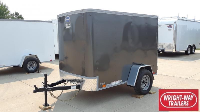 2022 United Trailers 5X8 CARGO Enclosed Cargo Trailer