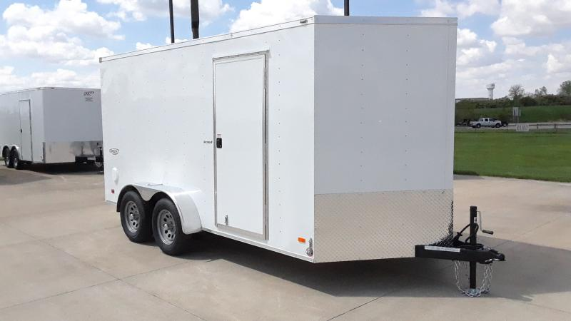 2021 Bravo Trailers 7X14 V NOSE SCOUT Enclosed Cargo Trailer