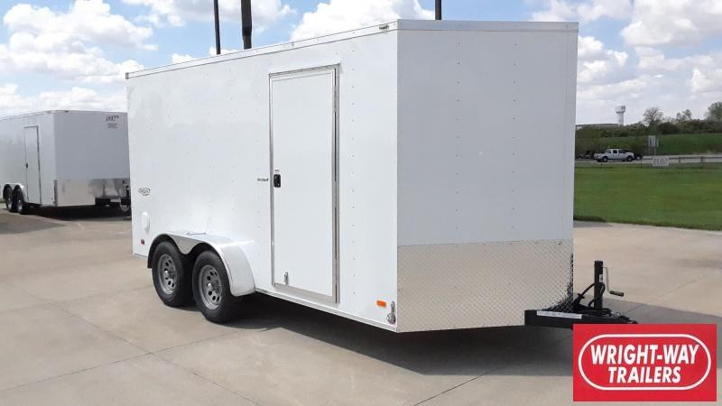 2021 Bravo Trailers 7X14 V NOSE SCOUT Enclosed Cargo Trailer