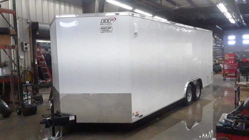 2021 Bravo Trailers 8.5X20 V NOSE ENCLOSED Enclosed Cargo Trailer