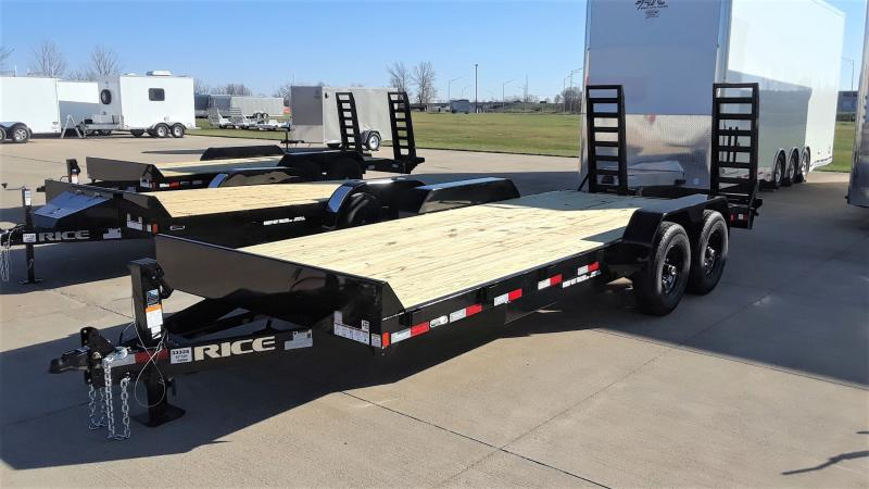 2021 Rice 20' EQUIPMENT 18+2 Equipment Trailer