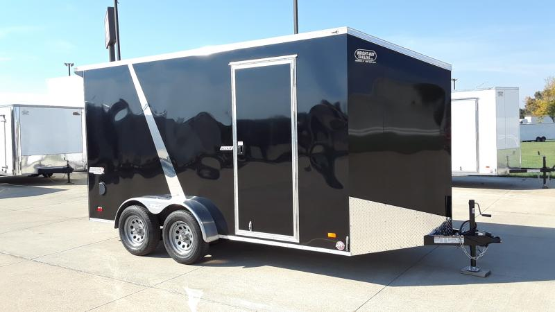 2022 Bravo Trailers 7X14 V NOSE Enclosed Cargo Trailer