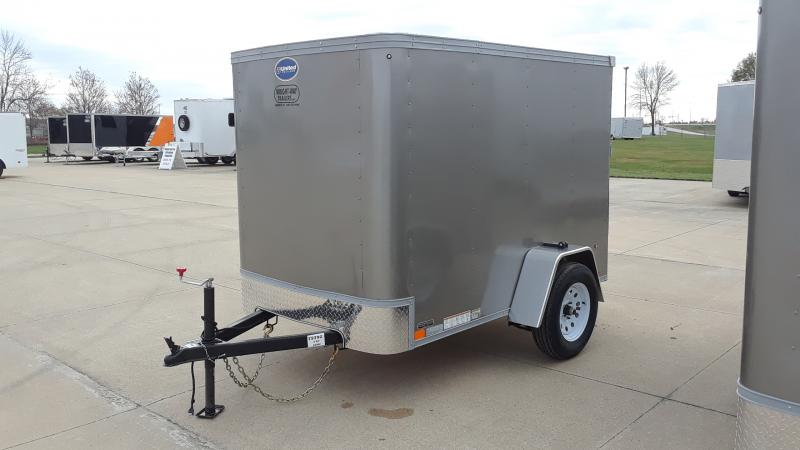 2021 United Trailers 5X8 CARGO Enclosed Cargo Trailer