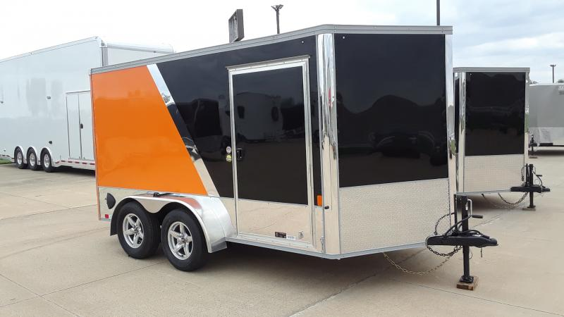 2021 United Trailers 7X12 MOTORCYCLE Motorcycle Trailer