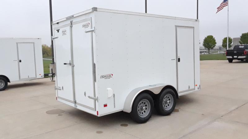 2021 Bravo Trailers 7X12 V NOSE SCOUT Enclosed Cargo Trailer