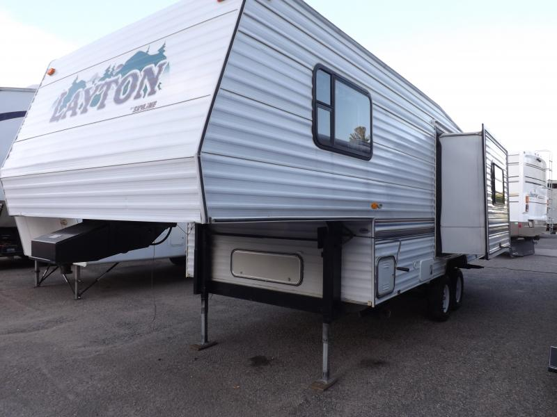 1999 Skyline Nomad 245LF Fifth Wheel Campers RV