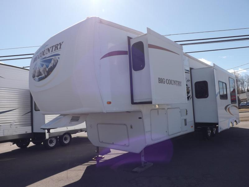 2010 Heartland Big Country 3550TLS Fifth Wheel Campers RV