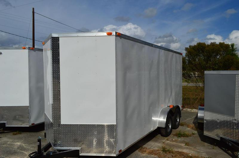 2019 Quality Cargo 7 x 18 Tandem Axle Enclosed Cargo Trailer