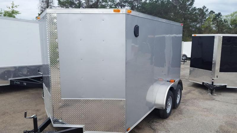 2019 Quality Cargo 6 x 12 Tandem Axle Enclosed Cargo Trailer