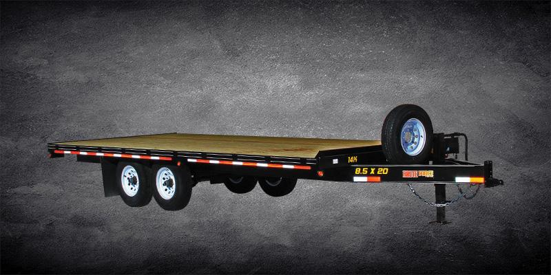 2019 Doolittle Trailer Mfg Brute Force XL Tandem Axle 14K Equipment Trailer