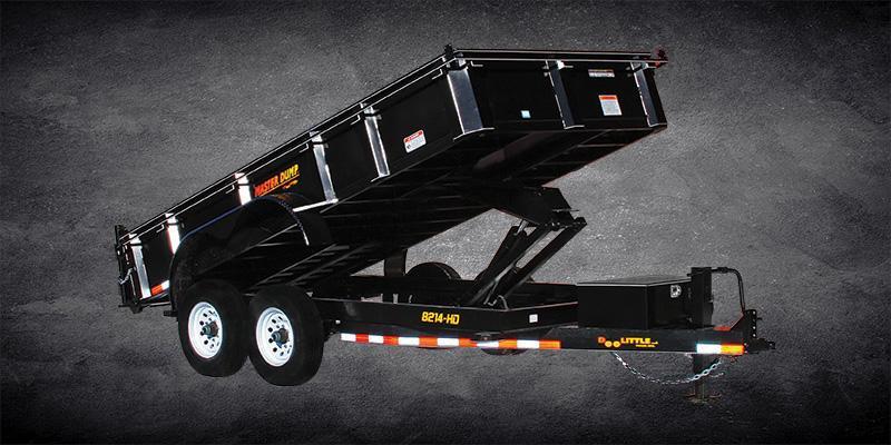 2019 Doolittle Trailer Mfg Masterdump 8200 Series 82 x 12 Tandem Axle 14K Dump Trailer