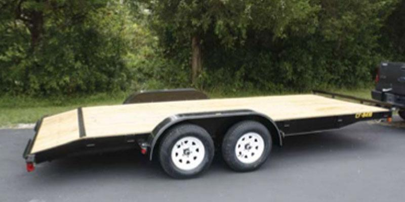 2019 Doolittle Trailer Mfg Channel Flatbed 10K Equipment Trailer