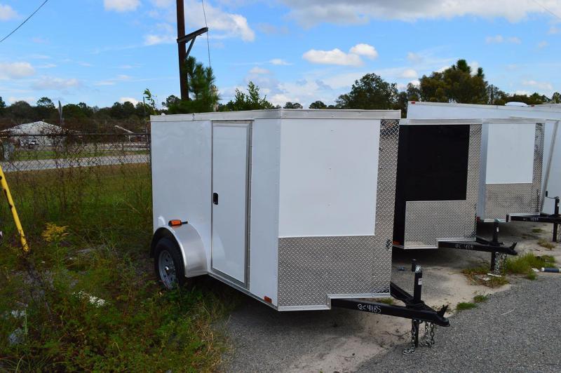 2019 Quality Cargo 5 x 10 Single Axle Enclosed Cargo Trailer