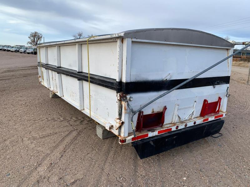 18' Side Dump Box w/Tarp