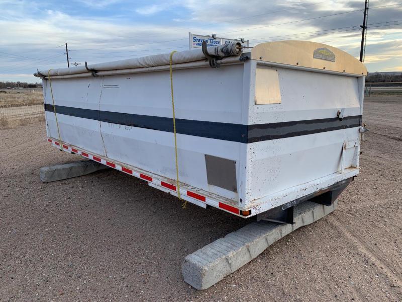 18' Side Dump Box w/Tarp