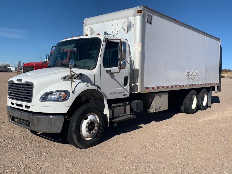 2008 Freightliner Business Class M2 with 24' Van Body