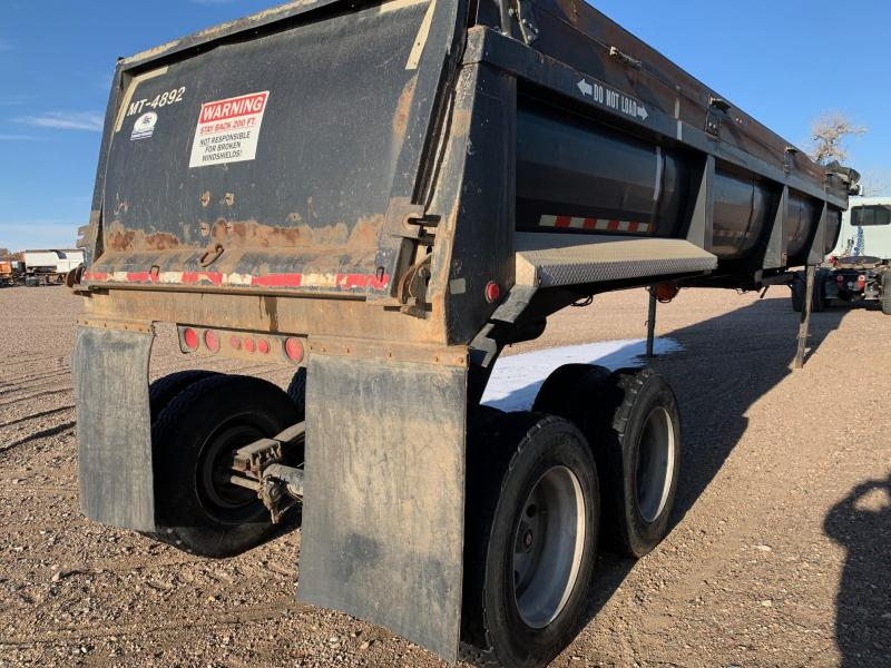 1996 CLEMENT DUMP 38' FRAMELESS Dump Trailer