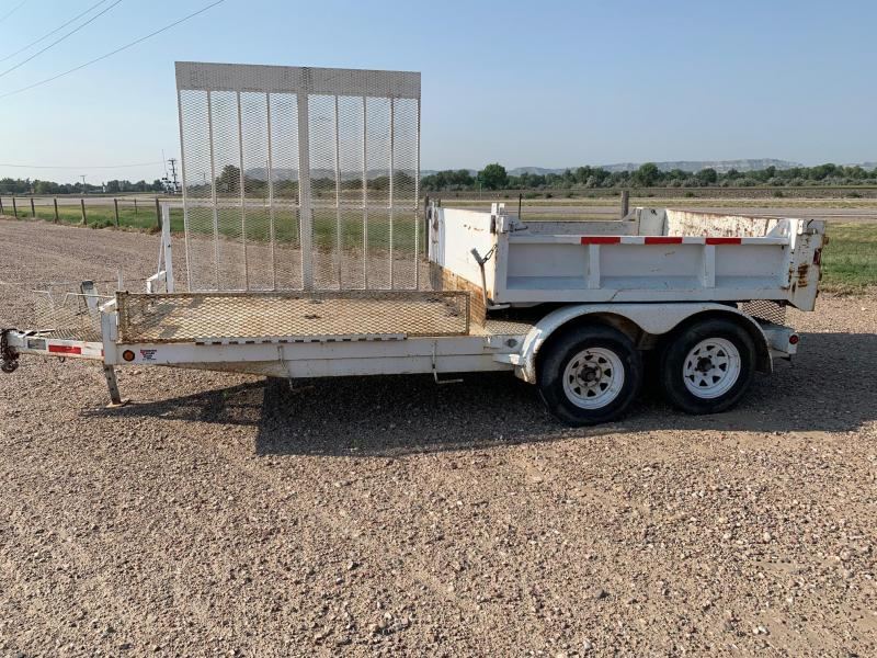 2002 Neal 18 Flatbed/Dump Trailer Specialty Trailer