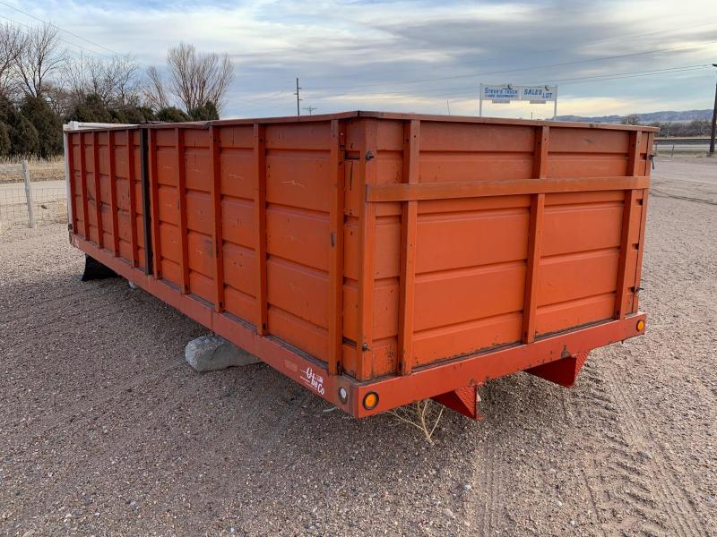 OBECO GRAIN BOX 20 FT