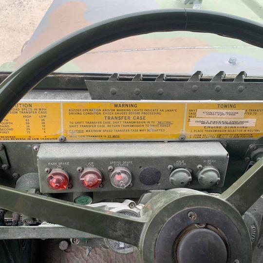 1990 Army 6x6 w/ 24' Box