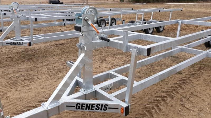 2021 Genesis PONTOON FLOAT AND CRANK Boat Trailer