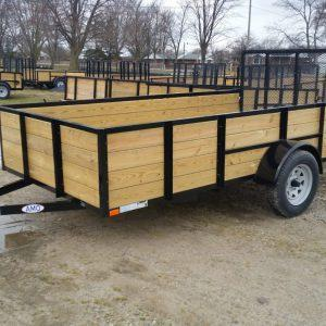 New 6.4X12 Woodside Landscape Trailer