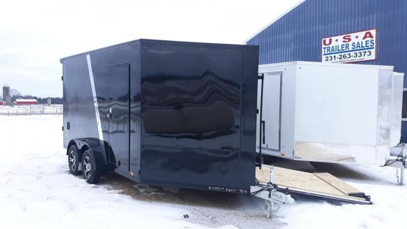 2021 Look Trailers SNOW Snowmobile Trailer