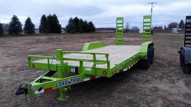 2021 Load Trail CARHAULER Equipment Trailer