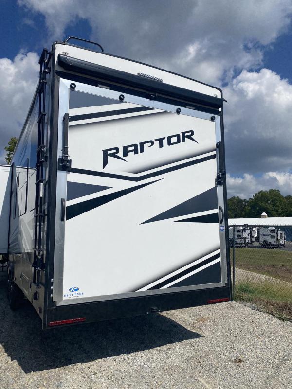 2022 Keystone RV Raptor 352 Toy Hauler RV