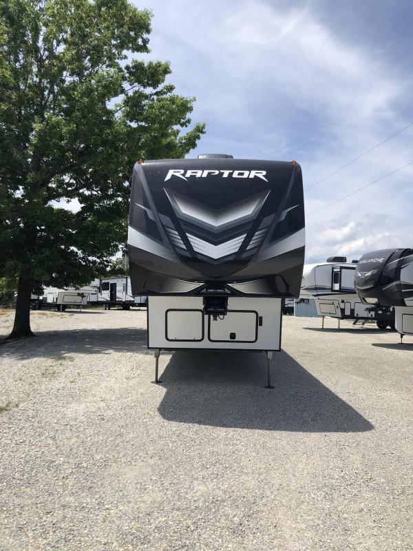 2021 Keystone RV Raptor 423 Toy Hauler RV