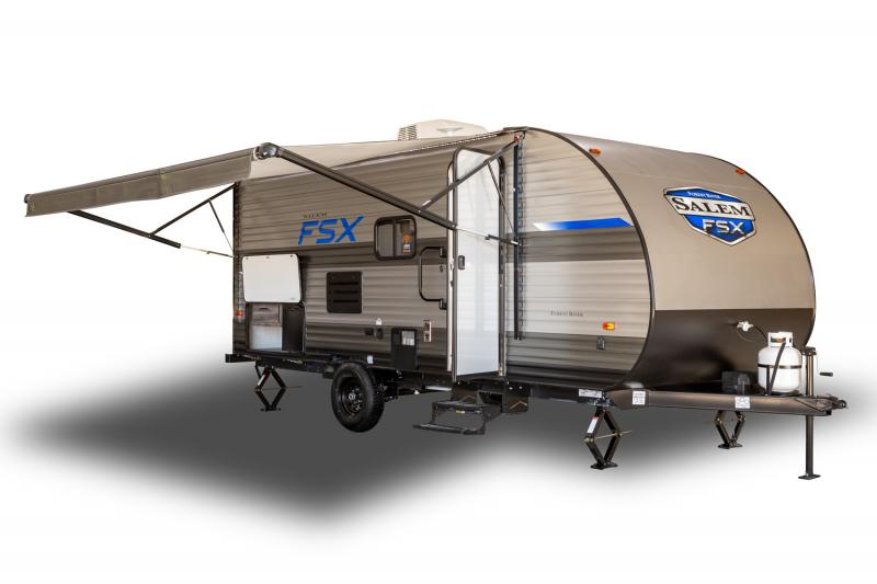 2021 Forest River Salem FSX 179DBK Travel Trailer RV