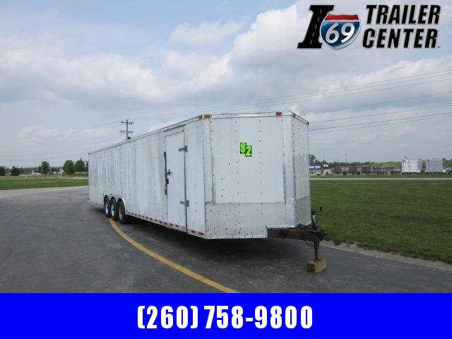 2017 South Georgia 8.5 x 30' tri-axle enclosed car hauler Car / Racing Trailer
