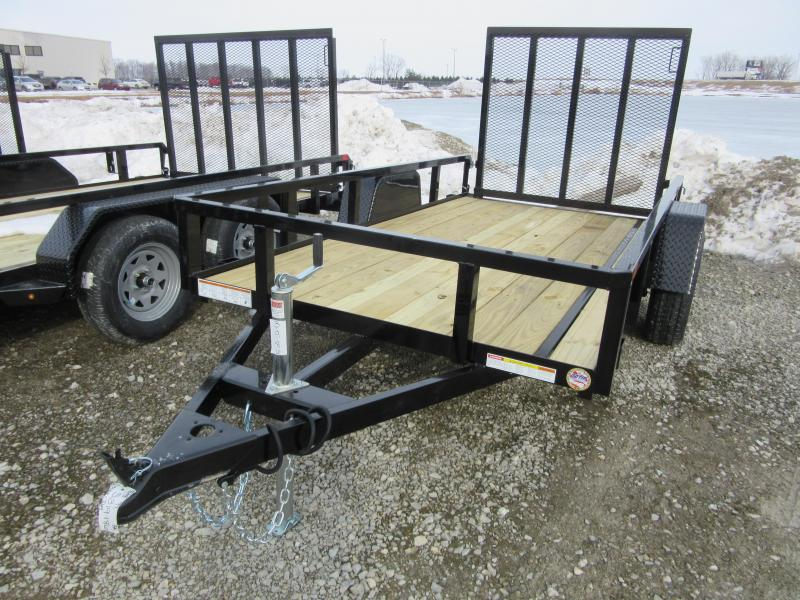 2021 Sure-Trac 5 x 10 Tube Top Utility Trailer  3K Idle