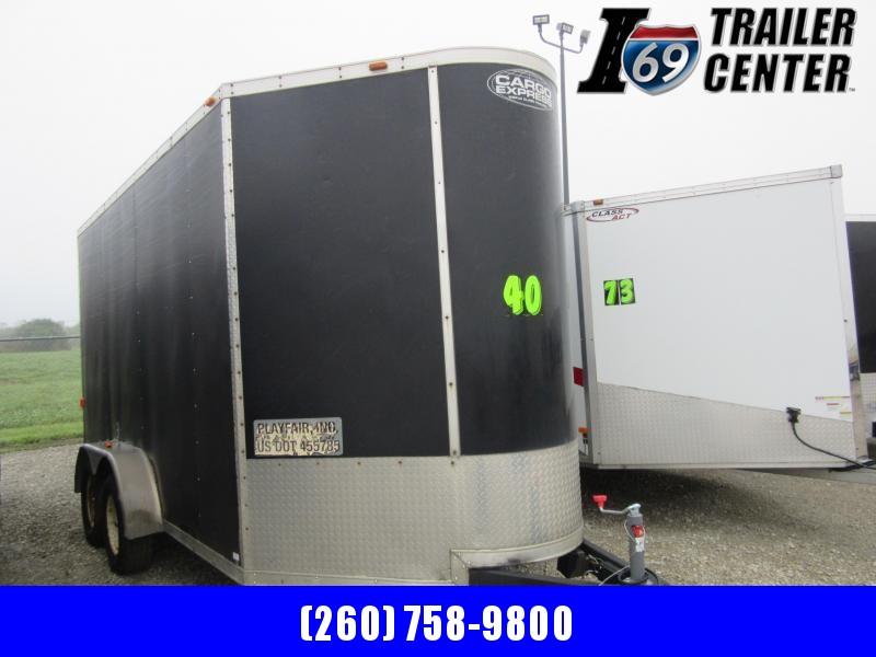 2009 Cargo Express 7 x 14 extra height deep v-nose enclosed Enclosed Cargo Trailer