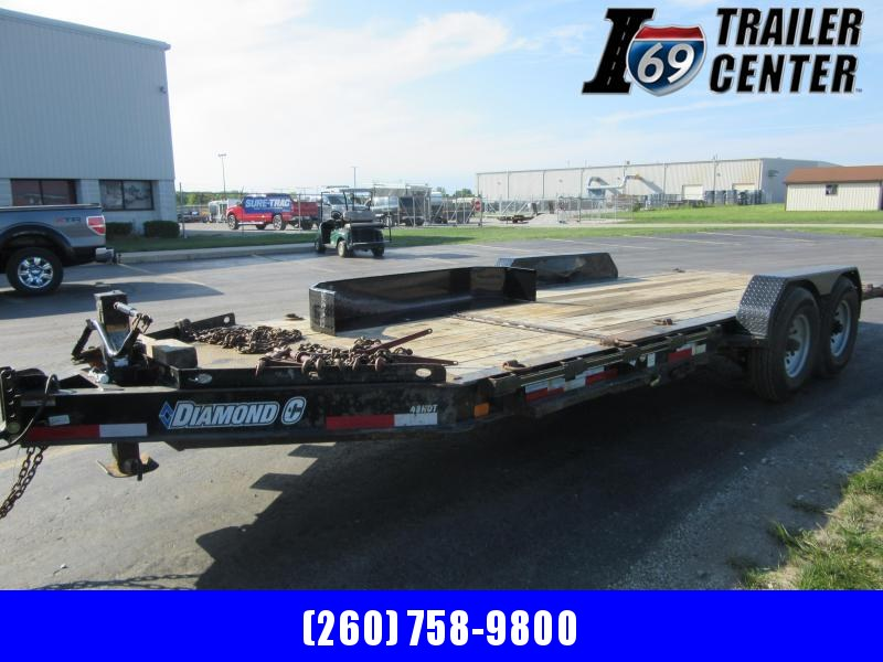 2016 Diamond C Trailers (16+4)  20 ft tilt equipment Equipment Trailer