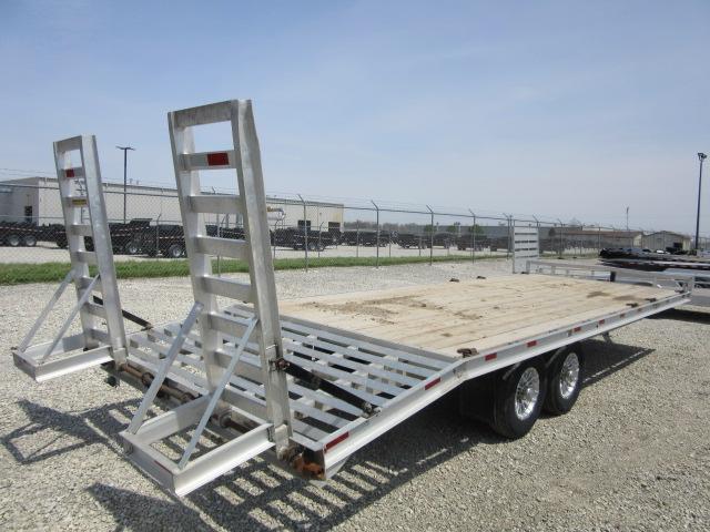 2020 H and H Trailer 102x20+4 dove HAL Hi-Deck Tandem Axle Aluminum Equipment Trailer