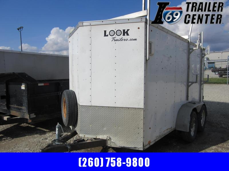 2013 Look Trailers 6 x 12 tandem axle 7K Enclosed Cargo Trailer
