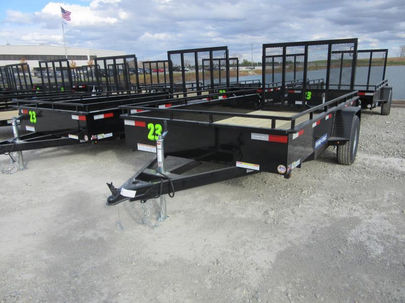 2021 Sure-Trac 6 x 12 Steel High Side Trailer  3K Idler