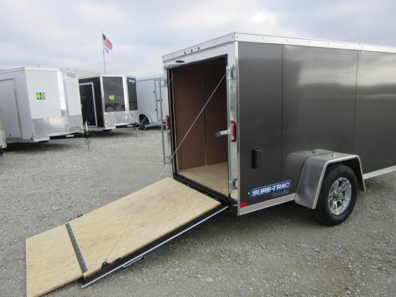 2021 Sure-Trac 5 x 10 Pro Series Enclosed Wedge Cargo T