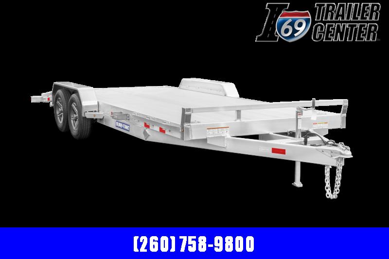 2022 Sure-Trac SURE TRAC ALUMINUM CAR HAULER 7X18 (14+4) Car / Racing Trailer
