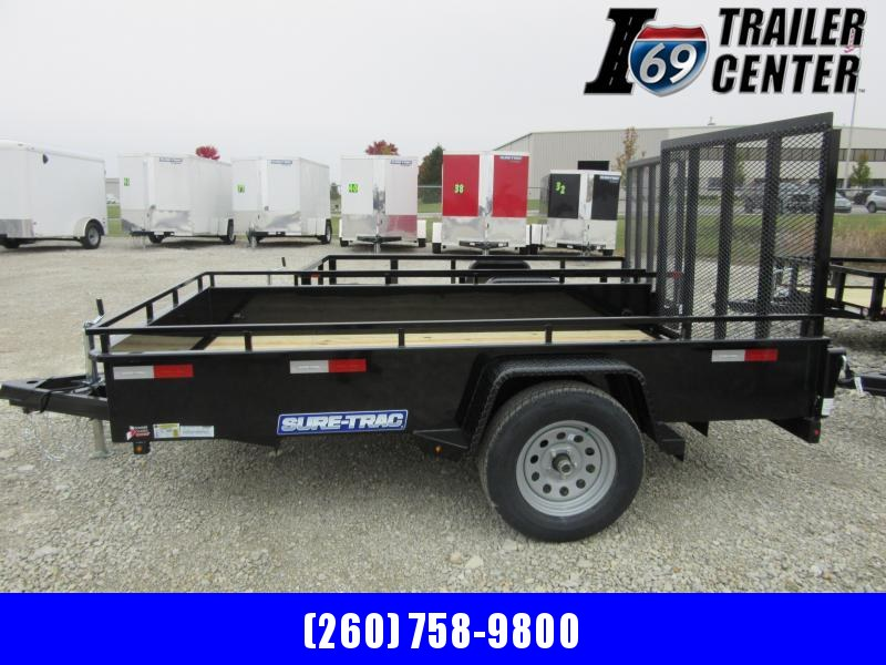 2021 Sure-Trac 5 x 10 Steel High Side Trailer  3K Idler