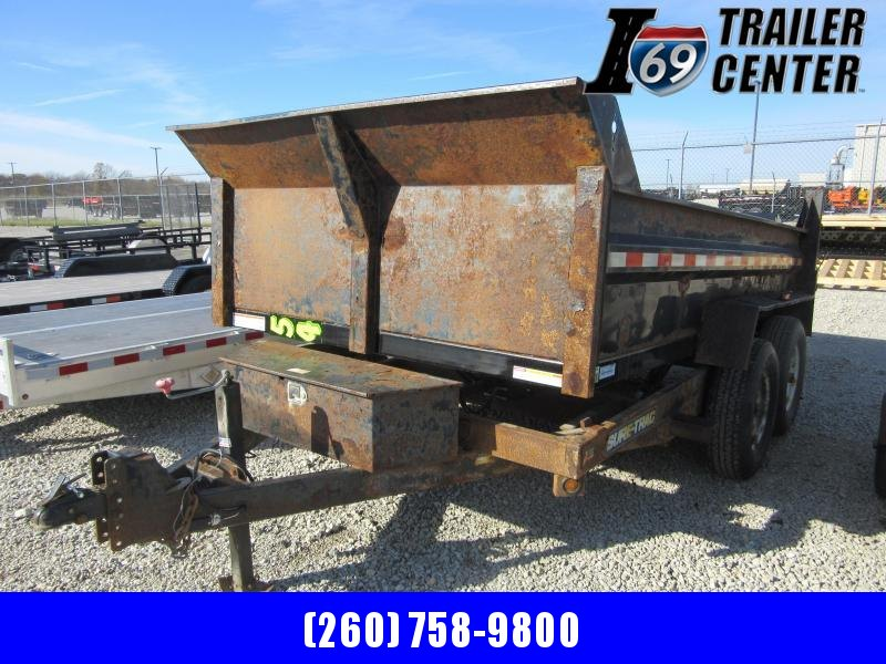 "2014 Sure-Trac 82"" x 12 ft Dump Trailer Dump Trailer"