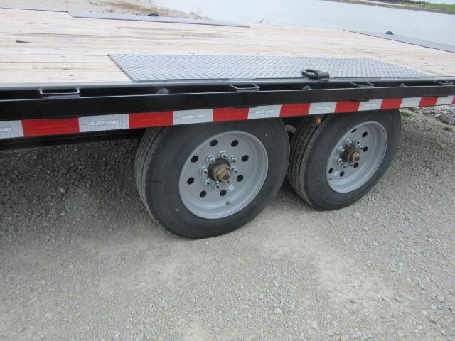 2021 Sure-Trac 102x26 deckover tilt tandem BP 17.6K Equipment Trailer