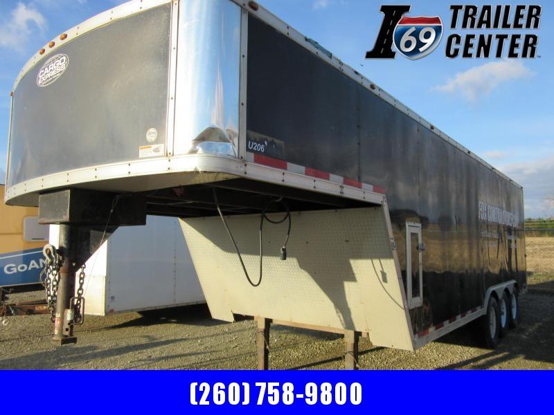 "2008 Cargo Express Enclosed GN 8.5 x 28 15.6K Encl door opening 71"" height! Cargo Trailer"