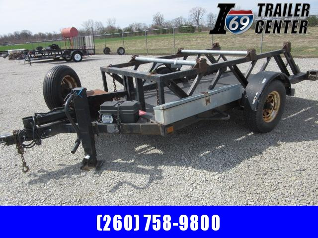1999 Other ET40 drop to ground 5 x 10 single axle Equipment Trailer