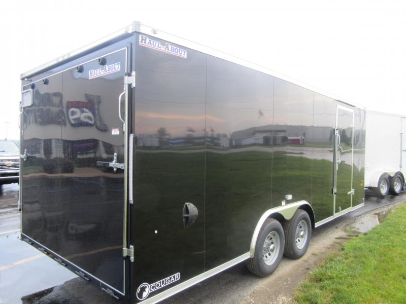 2021 Haul-About Cougar 8.5x20 Car / Racing Trailer 10K