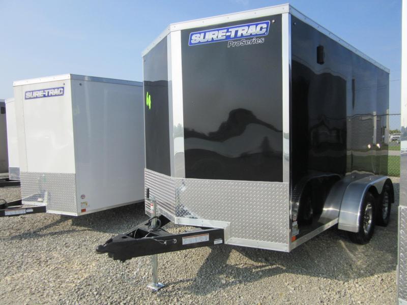 2021 Sure-Trac 7 x 12 Pro Series Enclosed Wedge Cargo T