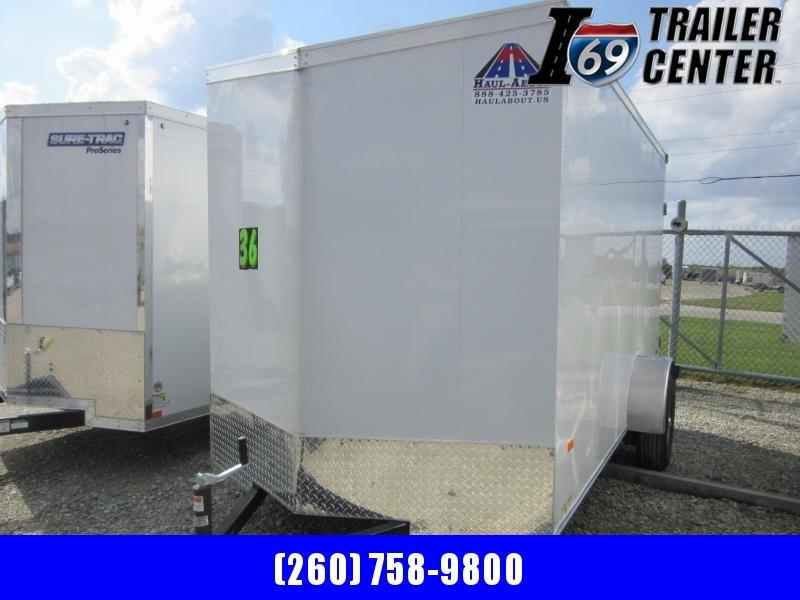 2021 Haul-About 6 x 12 Enclosed Cougar Model Enclosed Cargo Trailer