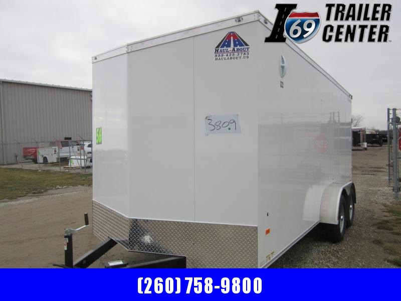 2021 Haul-About CGR714TA2 7 x 14 Enclosed Cargo Trailer