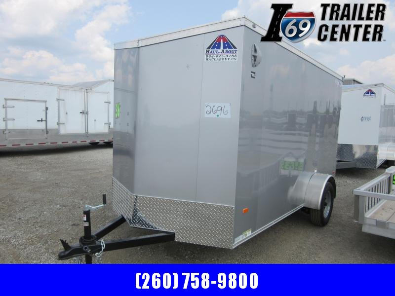 2020 Haul-About Cougar model 6 x 12 3K wedge enclosed Enclosed Cargo Trailer